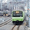 Photos: おおさか東線201系と学研都市線321系並走♪