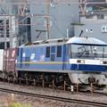 桃太郎308号機牽引1086レ新大阪通過