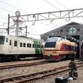 Photos: 鉄道わくわくフェスティバル in 新前橋展示車両の並び