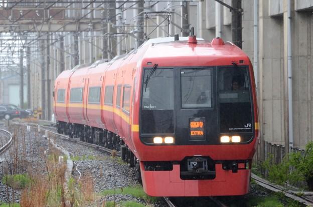 Photos: 253系臨時快速藤の花観ナイト号小山9番入線
