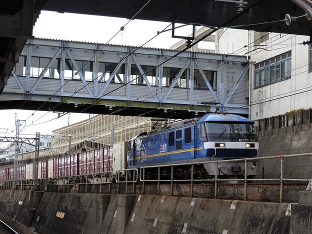 桃太郎黄帯311号機牽引コンテナ貨物