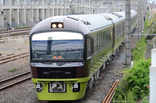 臨時快速リゾート那須野満喫号 宇都宮貨物(タ)通過