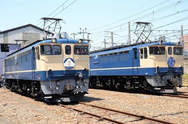 令和元年EF65PF国鉄色の競演