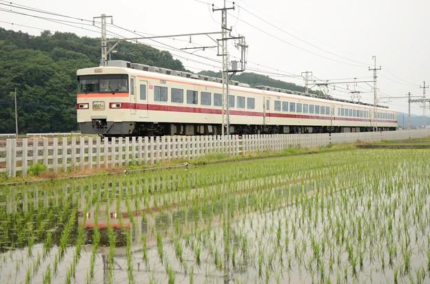 東武350系臨時特急きりふり284号浅草行き