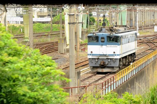 四季島 宇都宮貨物(タ)通過  VIEW TERRACE いぶきからの車窓