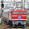 Photos: EF81 95号機牽引カシオペア紀行号雀宮2番入線