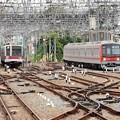 Photos: 東京メトロ日比谷線直通車両並び