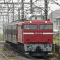 Photos: EF81 80号機牽引旧客送り込み回9141レ