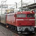 Photos: EF81 80+旧客3B磐越西線120周年記念号送り込回送 回9141レ
