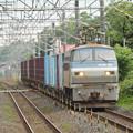 宇都宮線を行くEF66 129号機牽引4093レ