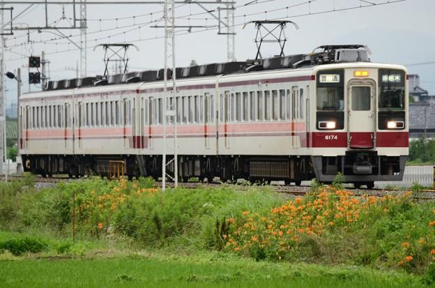 東武6050系普通新栃木行き