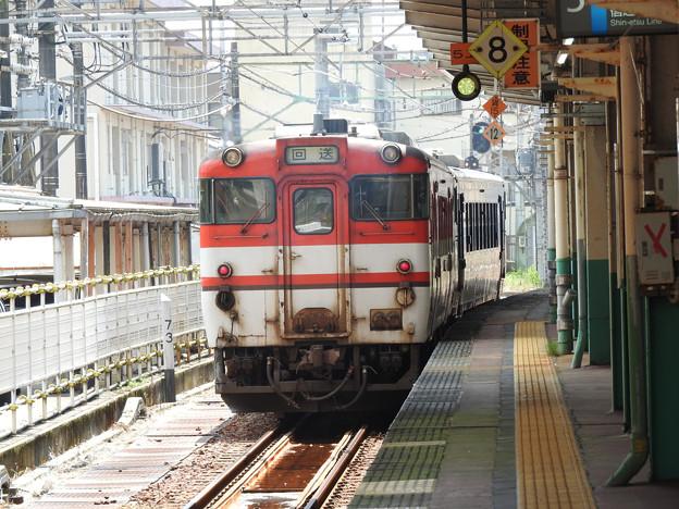 キハ40系回送長岡5番発車
