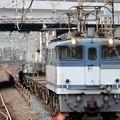 武蔵野線に乗り入れるEF65 2093牽引配8592レ