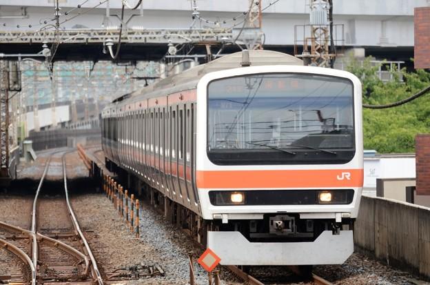 武蔵野線209系M71編成南船橋行き