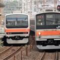 武蔵野線205系M1編成府中本町行き