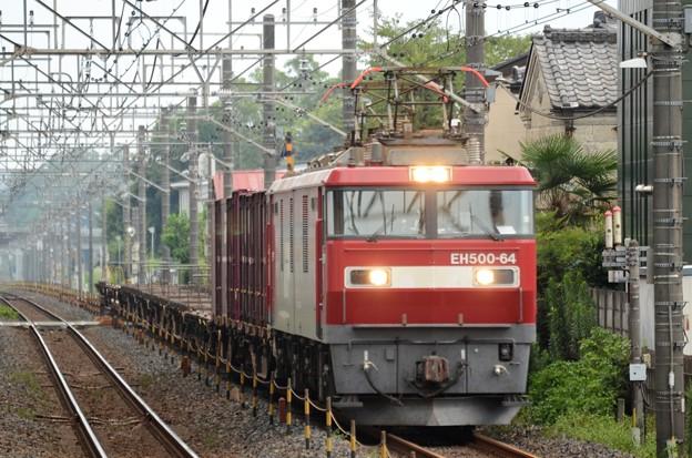 Photos: 金太郎64号機牽引臨貨8095レ石橋通過