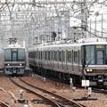 Photos: 尼崎駅同時進入