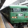 Photos: 緑単色117系団臨