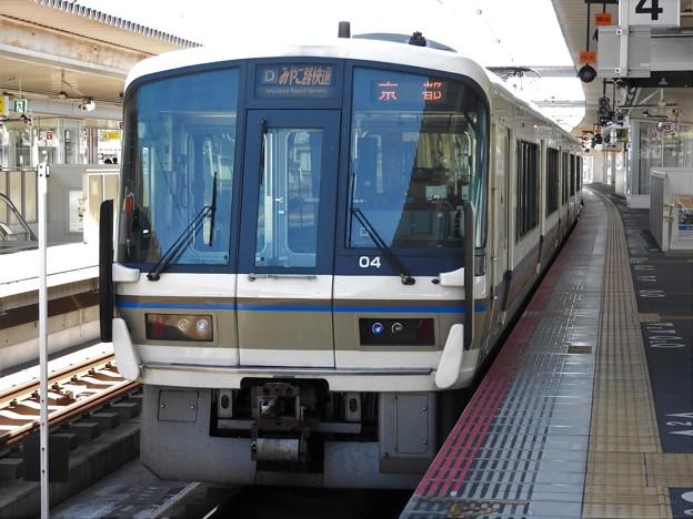 221系みやこ路快速京都行き