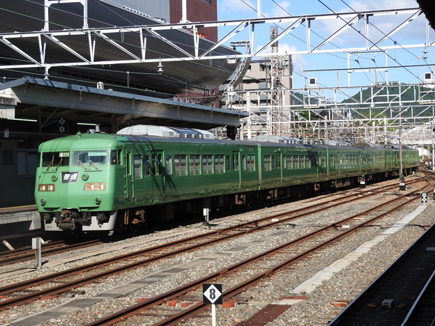 湖西線117系京都入線
