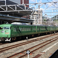 Photos: 湖西線117系京都入線