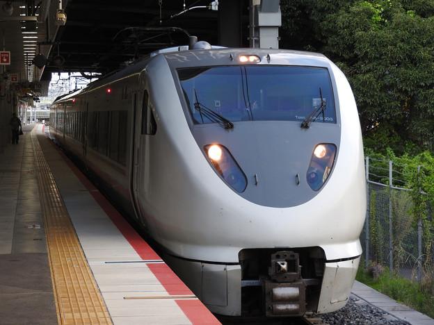 289系特急こうのとり17号新大阪発車待ち
