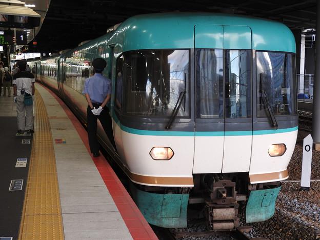 283系特急くろしお22号新大阪1番到着