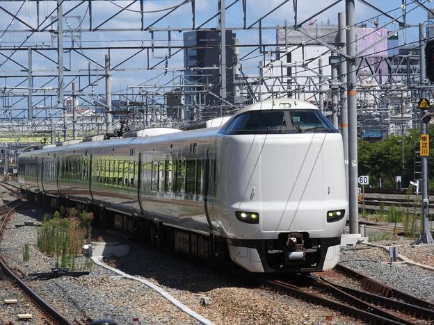 287系特急くろしお9号新大阪3番入線