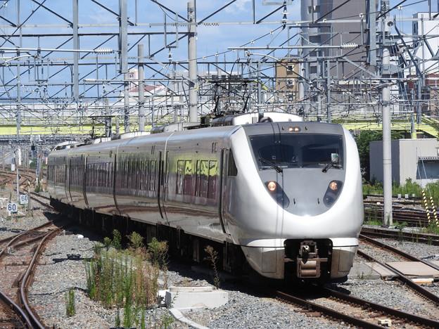 289系特急くろしお11号新大阪3番入線