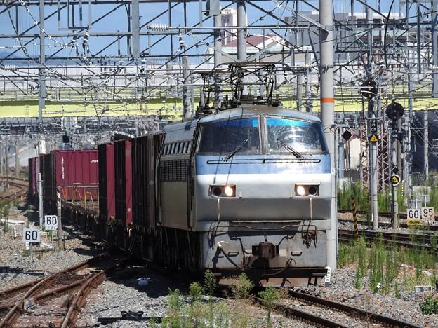 EF66 101号機牽引91レ新大阪通過