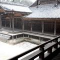 2018.1.3(兵庫/姫路/書写山圓教寺-食堂から見た常行道)