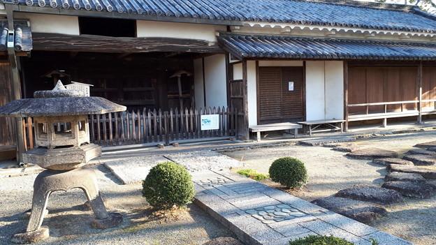 2018.1.3(兵庫/赤穂/大石邸-長屋門-裏側全体)