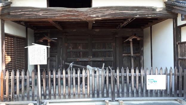 2018.1.3(兵庫/赤穂/大石邸-長屋門-裏側)