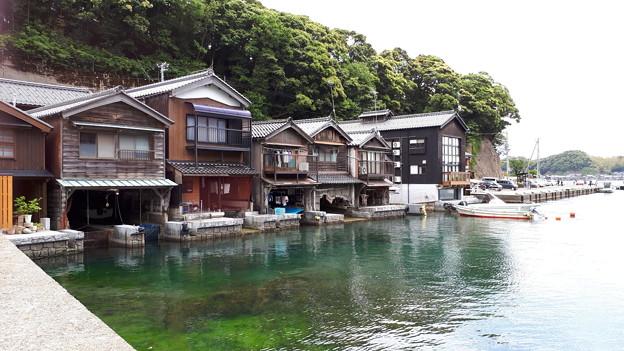 2018.5.20(京都/伊根の舟屋/港より-左側)