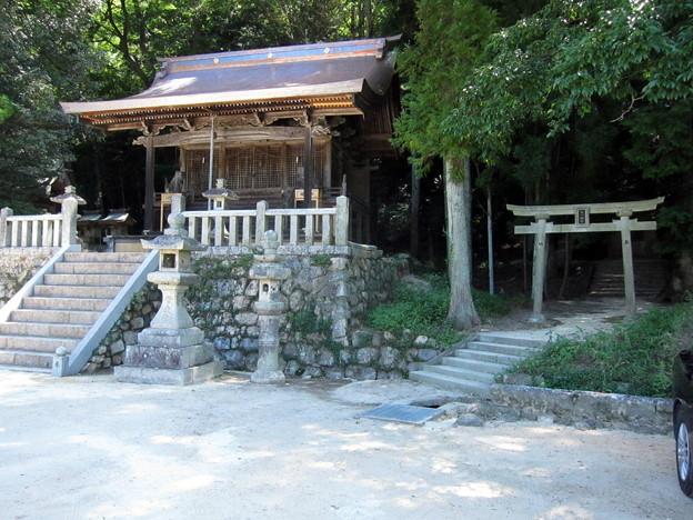 2018-07-23畑入口の神社