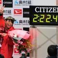写真: 大阪国際女子マラソン 松田瑞生