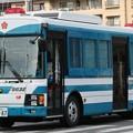 写真: 京都府警 機動隊 大型輸送車