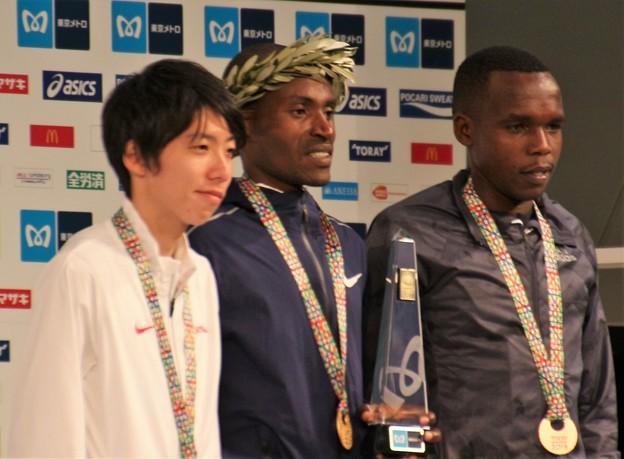 東京マラソン2018 表彰式