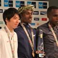 写真: 東京マラソン2018 表彰式