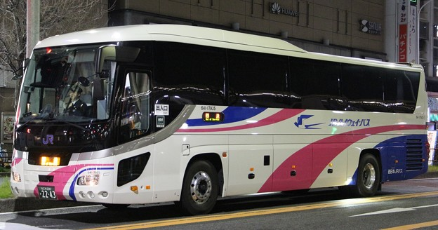 西日本JRバス 夜行高速バス(ハイデッカー)