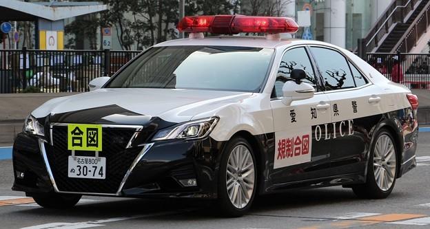 愛知県警 交通機動隊 パトロールカー