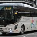 写真: 千葉みらい観光バス 夜行高速バス(ハイデッカー)