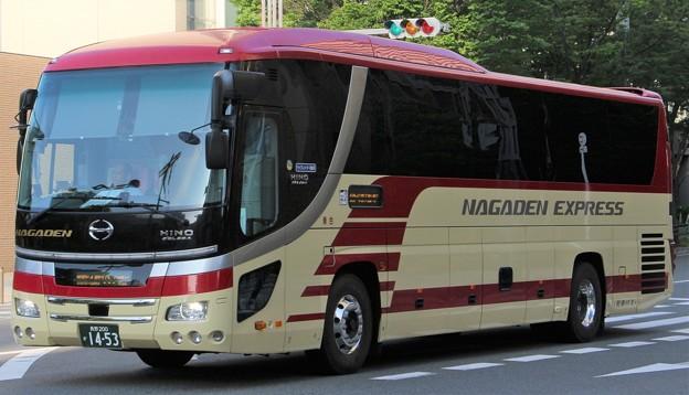 長電バス 夜行高速バス「長電エクスプレス」(ハイデッカー)
