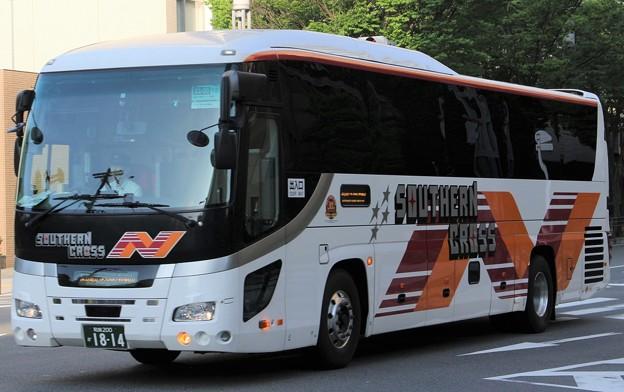 南海ウイングバス南部 夜行高速バス「サザンクロス」      (ハイデッカー)