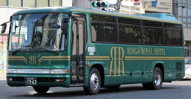 北港観光バス リーガロイヤルホテル送迎バス