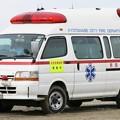 写真: 京都府京田辺市消防本部 高規格救急車
