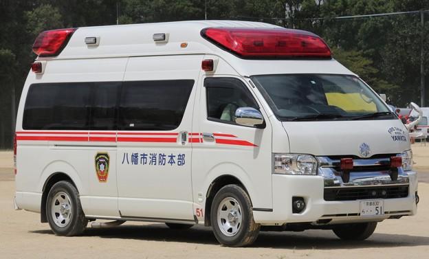 京都府八幡市消防本部 高規格救急車(災害対応特殊仕様)