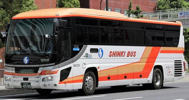 神姫バス 昼行高速バス「ハーバーライナー」(ハイデッカー)