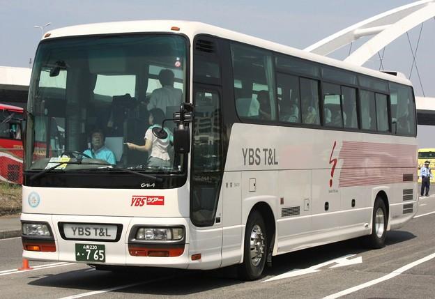 山梨交通観光バス スーパーハイデッカー「わっピィ」     (YBS T&Lツアー専用車)