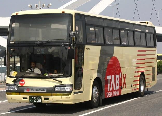 群馬交通観光 スーパーハイデッカー              (タビックスジャパン ツアー専用車)